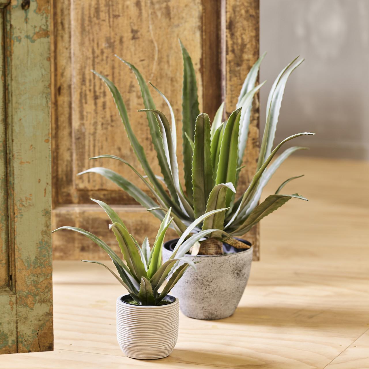 Kunst Aloë Vera plant 30 cm