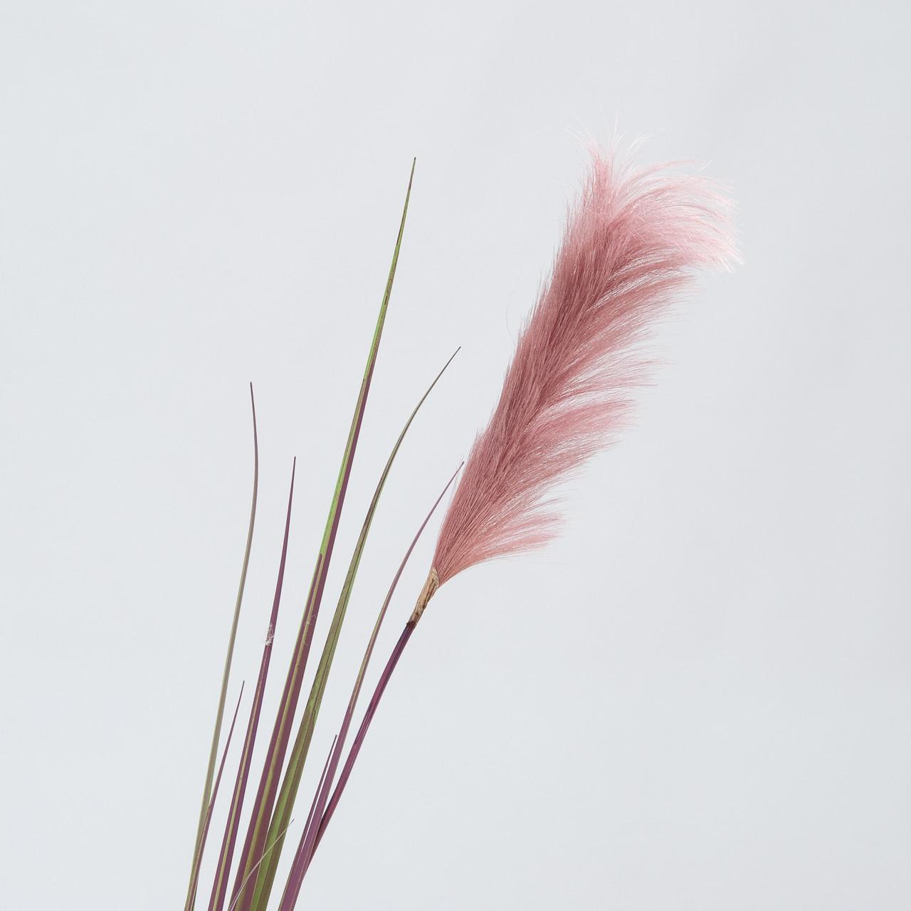 Pampasgras paarse kunst pluim 175 cm