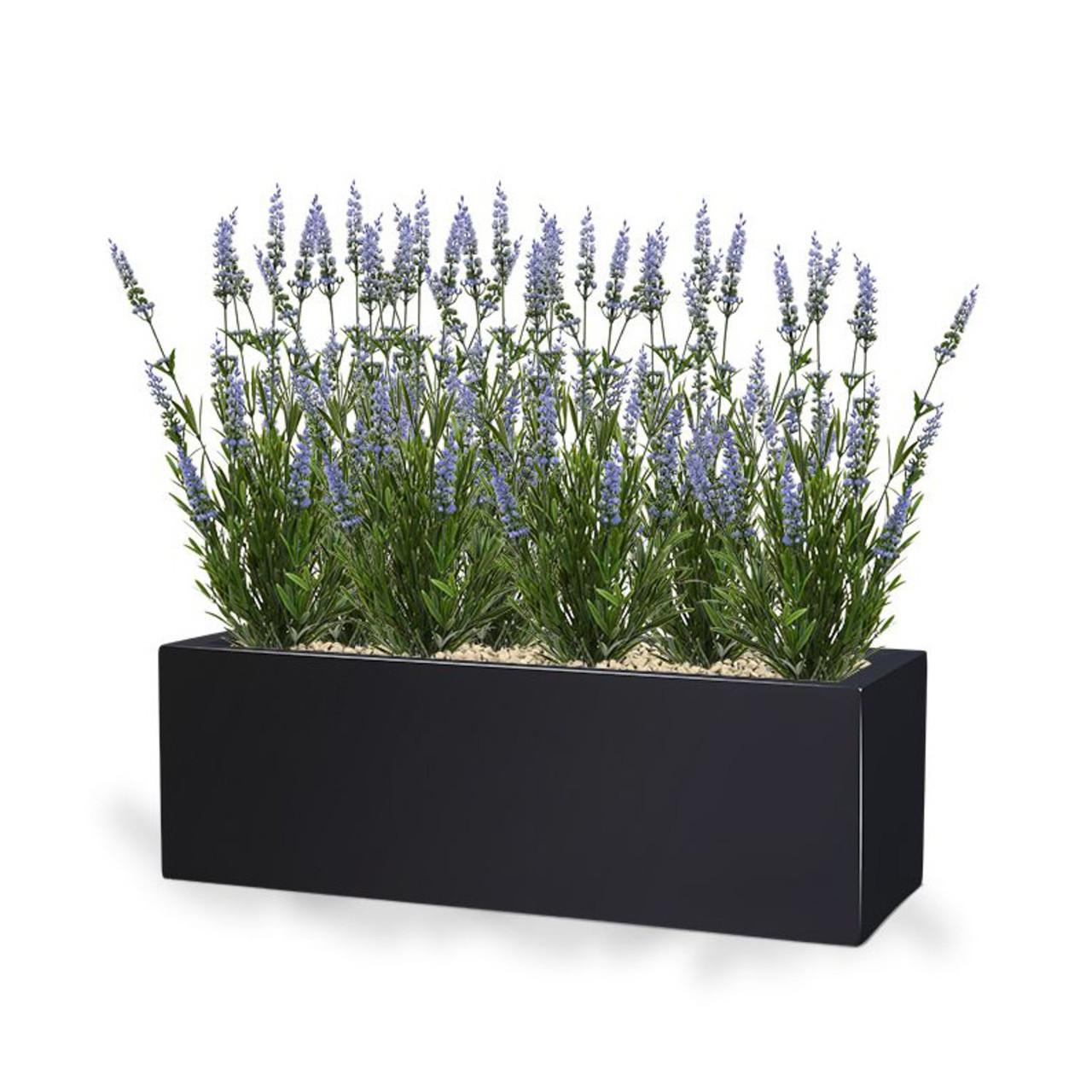 Lavendel Kunstboeket 50 cm blauw UV