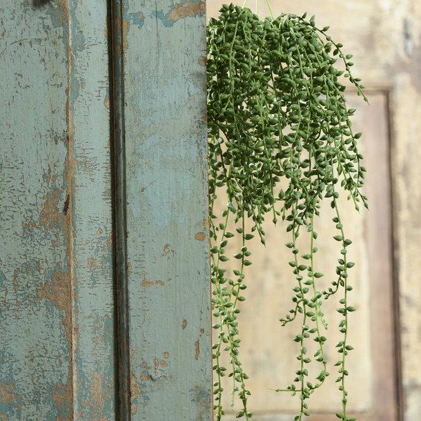 Senecio kunsthangplant 60 cm