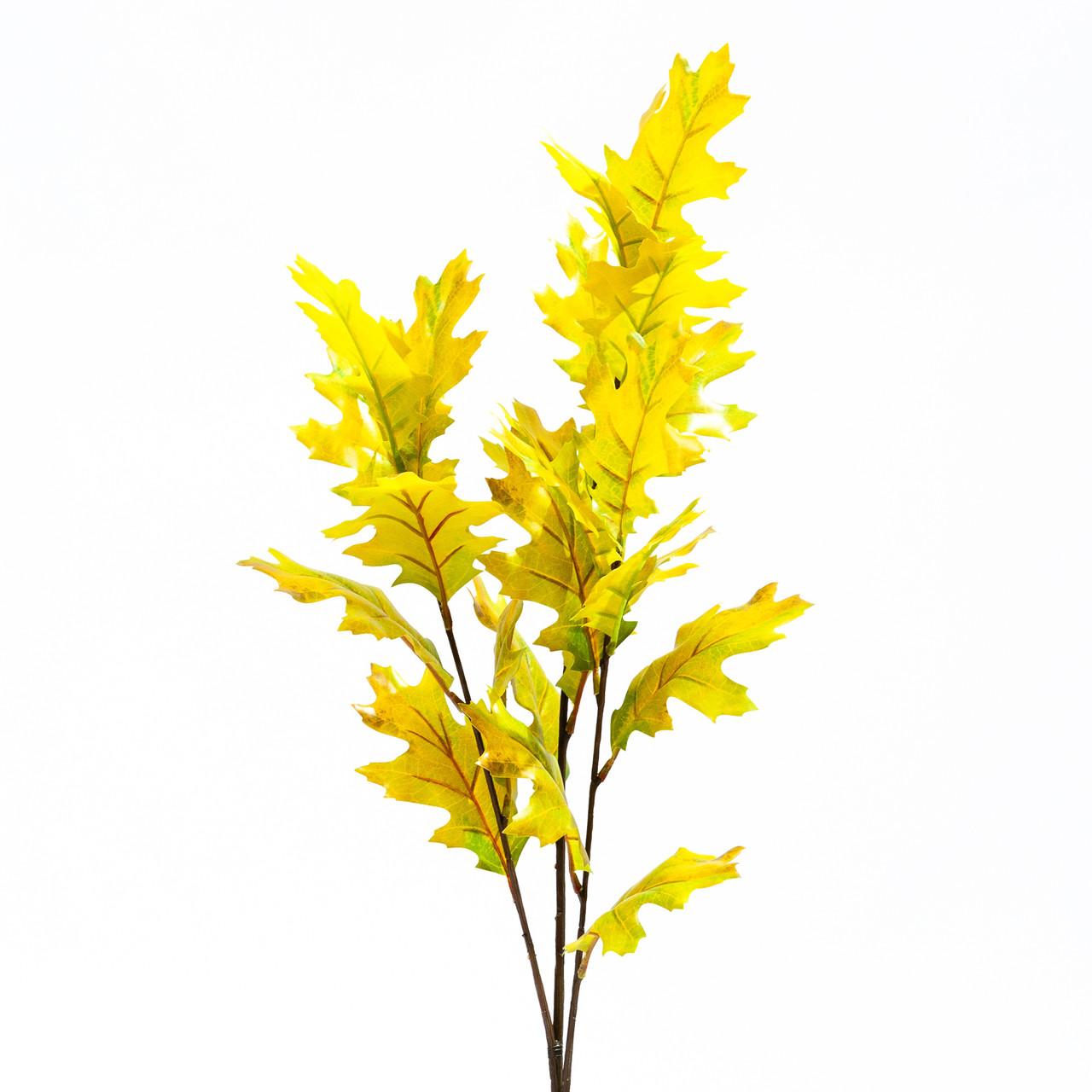 Amerikaans kunst eikenbladtak 100 cm geel