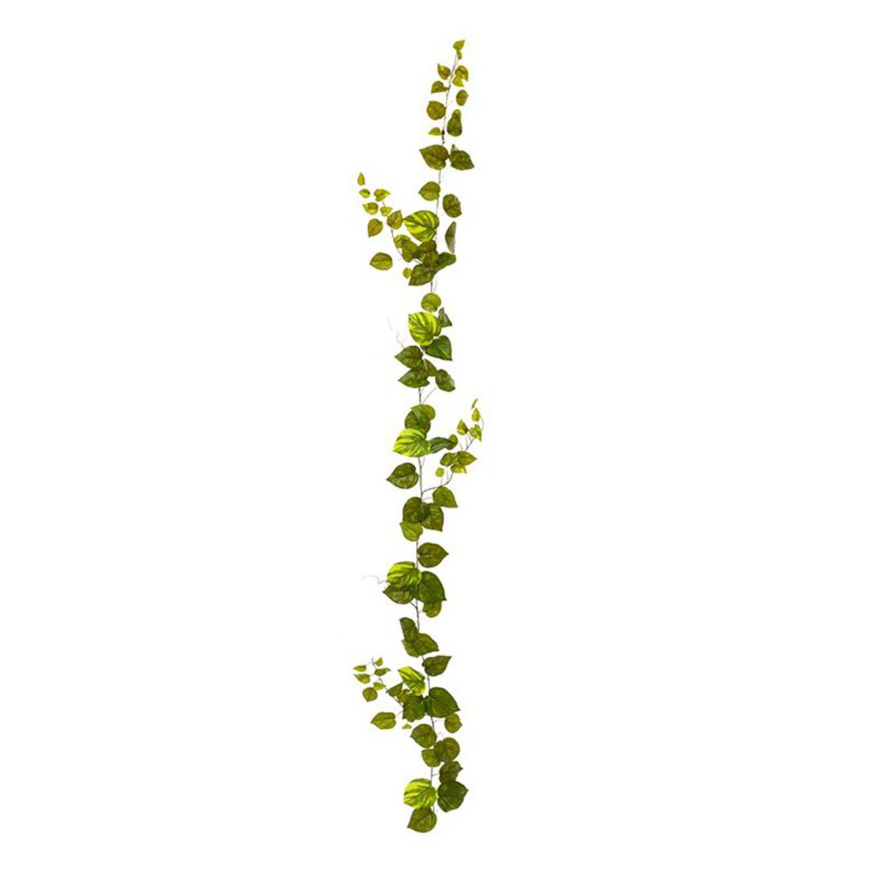 Pothos kunst guirlande 180 cm bont