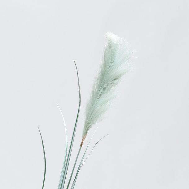 Pampasgras groene kunst pluim 175 cm