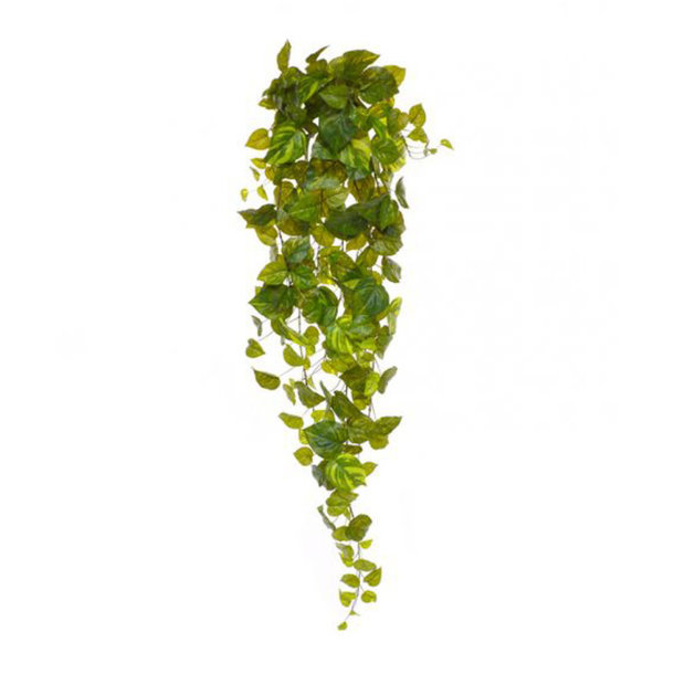 Pothos kunsthangplant 130 cm bont