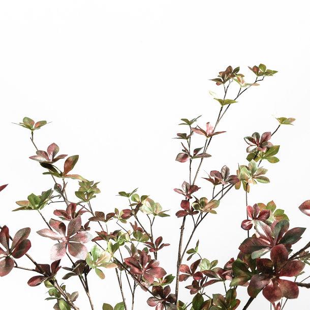 Kunst Herfstboom rood 180 cm