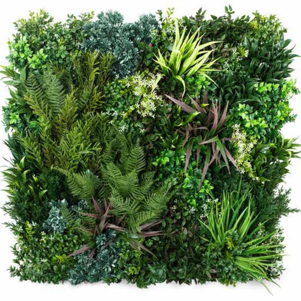 Kunst Groene Wand Outdoor - kunstplanten voor buiten