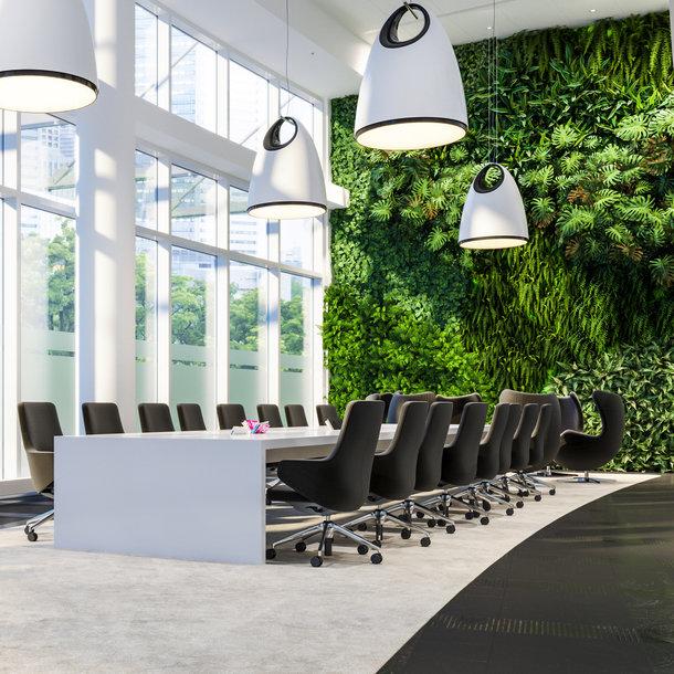 Kunst Groene Wand Custom - maatwerk met zeer hoge kwaliteit