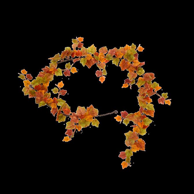 Druiven Kunst Druiven Herfst Guirlande 180 cm
