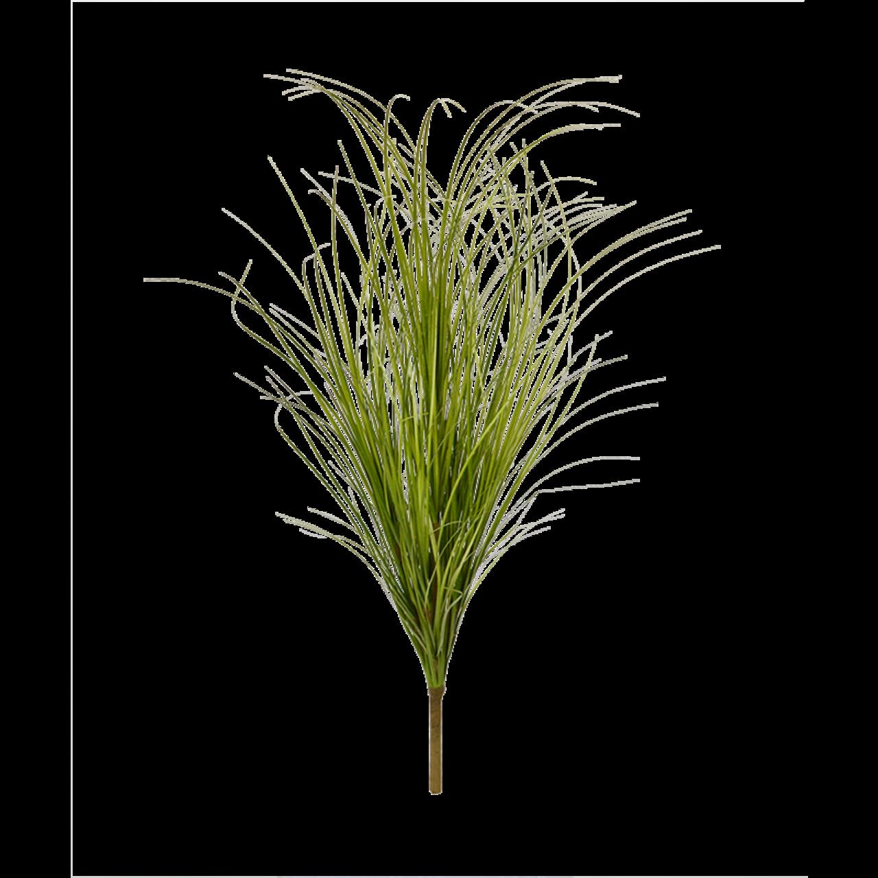 Kunst Grasboeket 60 cm wide groen