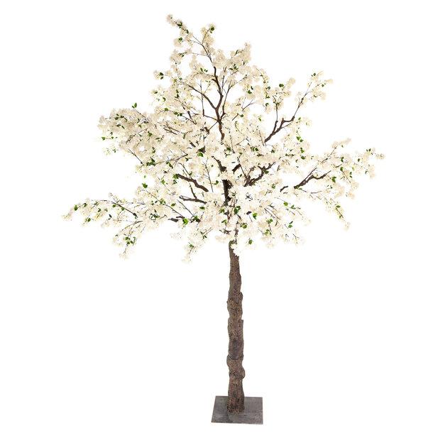 Kunst Bloesemboom wit 300 cm