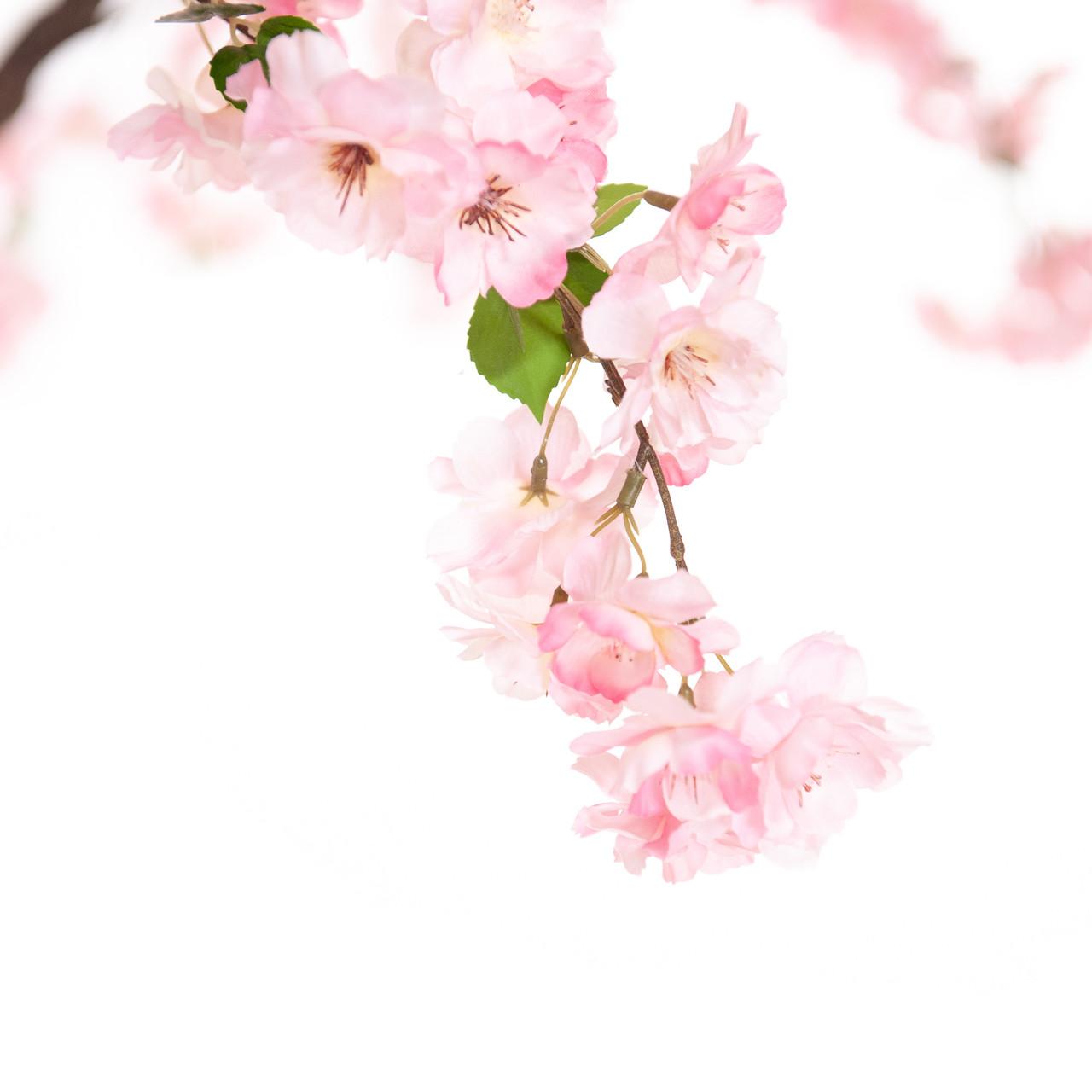 Kunst Bloesemboom roze 300 cm
