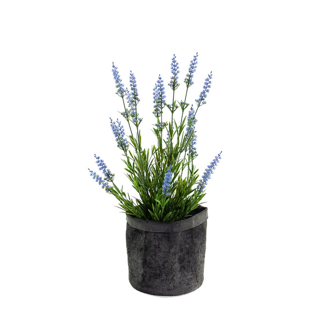 Lavendel Lavendel Kunstplant 50 cm blauw UV