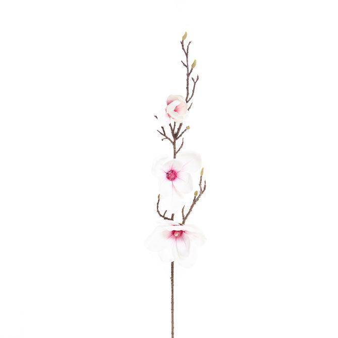 Magnolia Kunst Magnoliatak 93 cm wit/roze