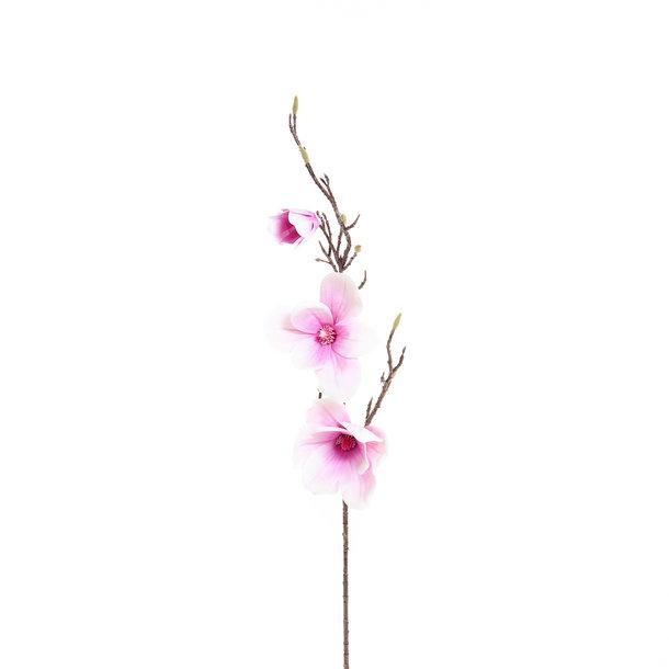 Set van 4 Kunst Magnoliatakken 93 cm in 4 kleuren