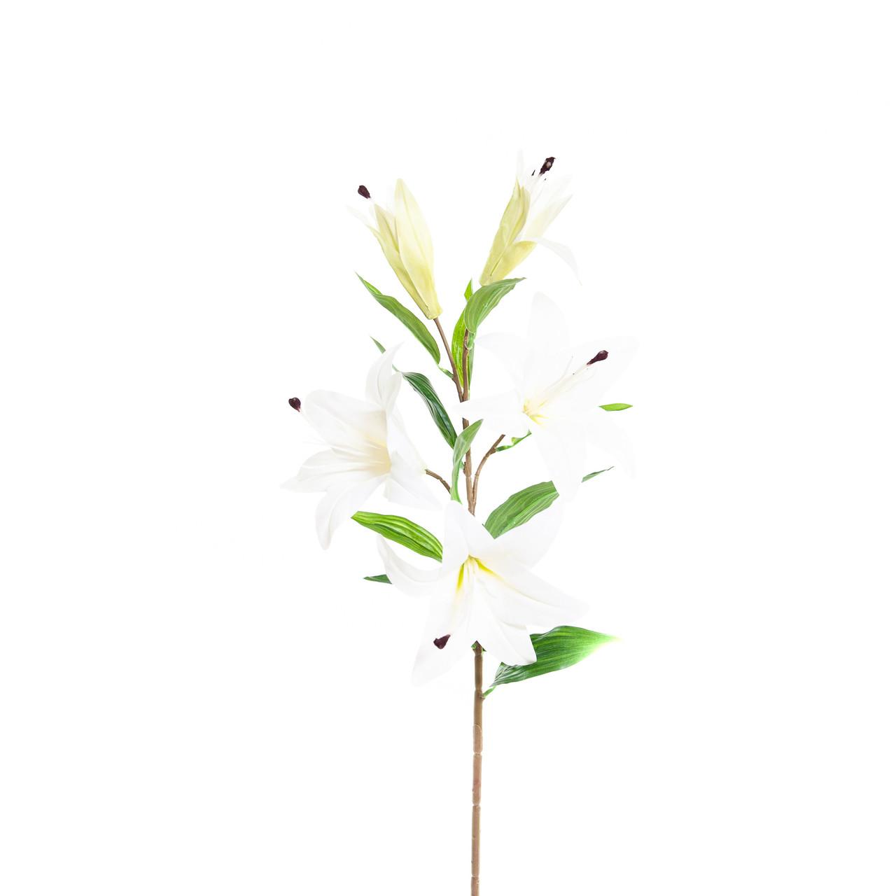Kunst Lelie 85 cm wit
