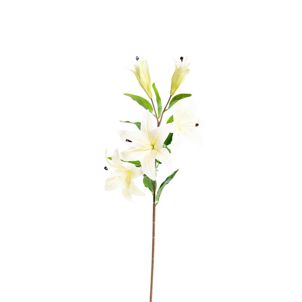 Kunst Lelie 85 cm vanille