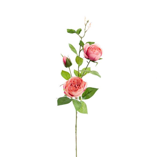 Rozen Kunst Rozentak 75 cm roze