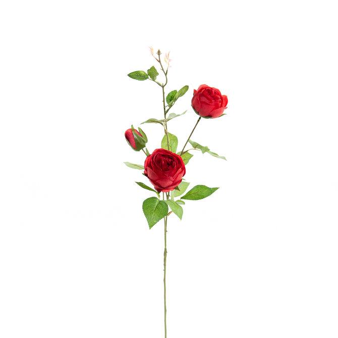 Rozen Kunst Rozentak 75 cm rood