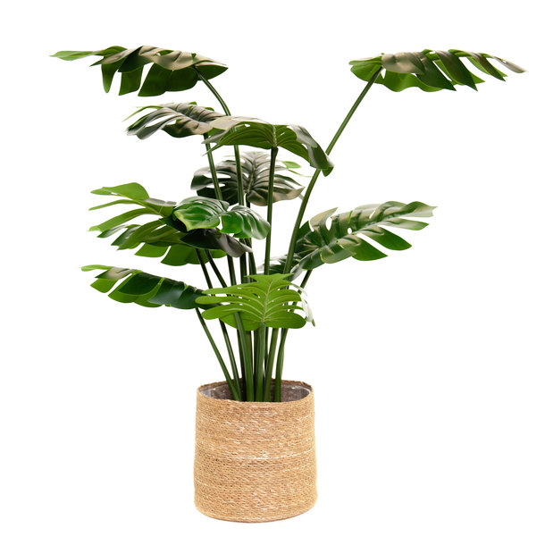 Kunst Monstera / Gatenplant 100 cm