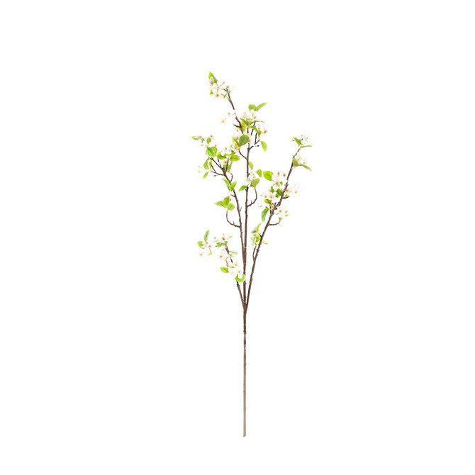 Bloesem Kunst Bloesemtak 125 cm wit/roze