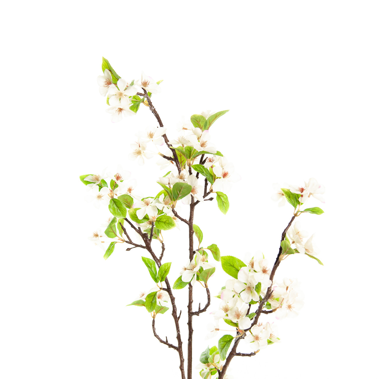 Kunst Bloesemtak 125 cm wit/roze