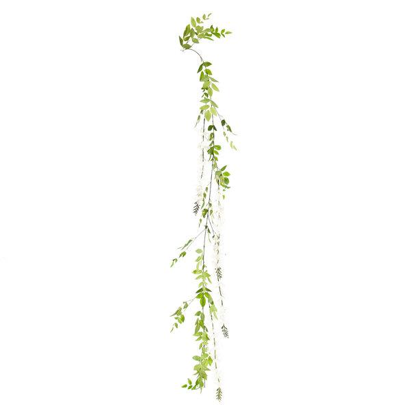 Kunst bloemenslinger 180 cm