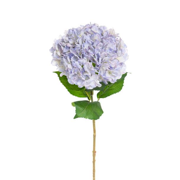 Kunst Hortensia op steel XL blauw 93 cm