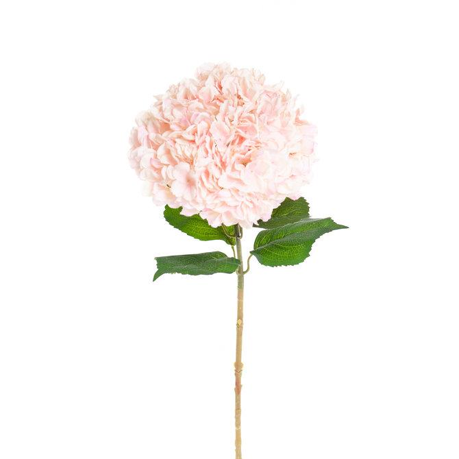 Hortensia Kunst Hortensia op steel XL roze 93 cm