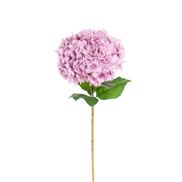 Kunst Hortensia op steel XL paars 93 cm