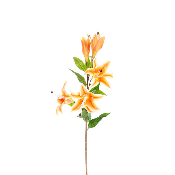 Kunst Lelie 85 cm oranje