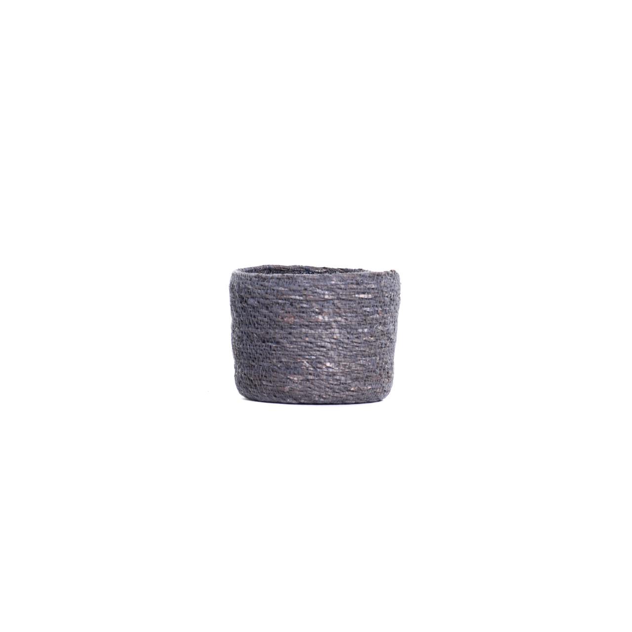 Pot naturel grijs D13 H10