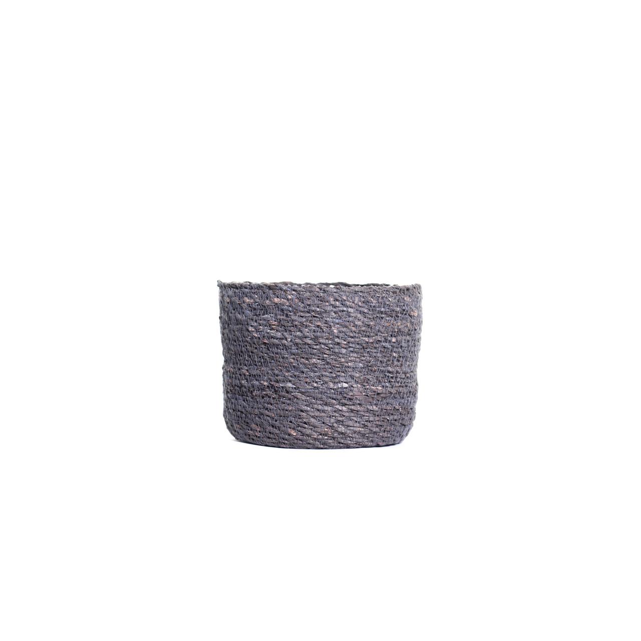 Pot naturel grijs D17 H14