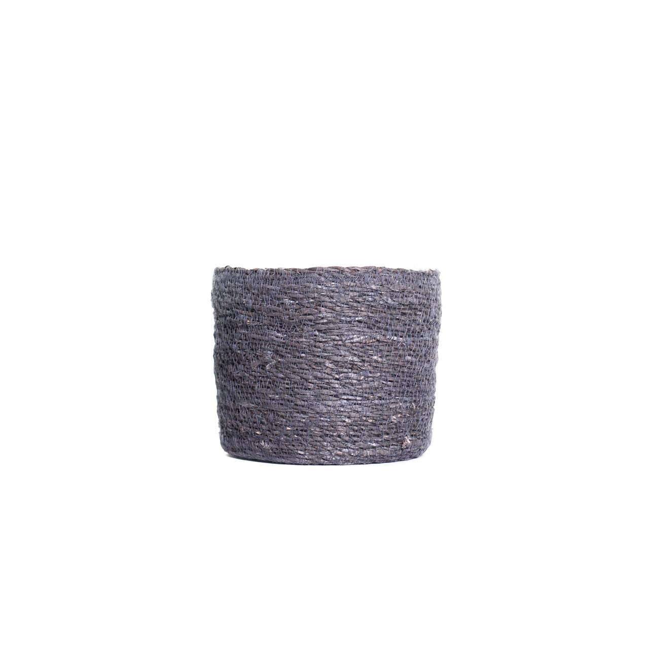 Pot naturel grijs D18 H15
