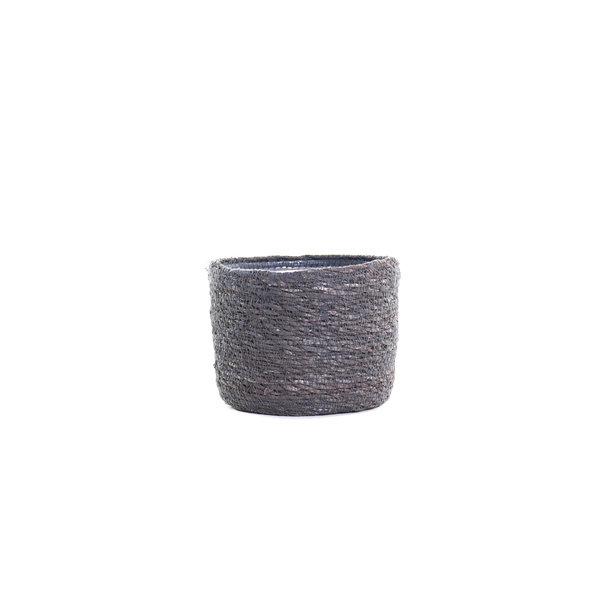 Pot naturel grijs D14 H13