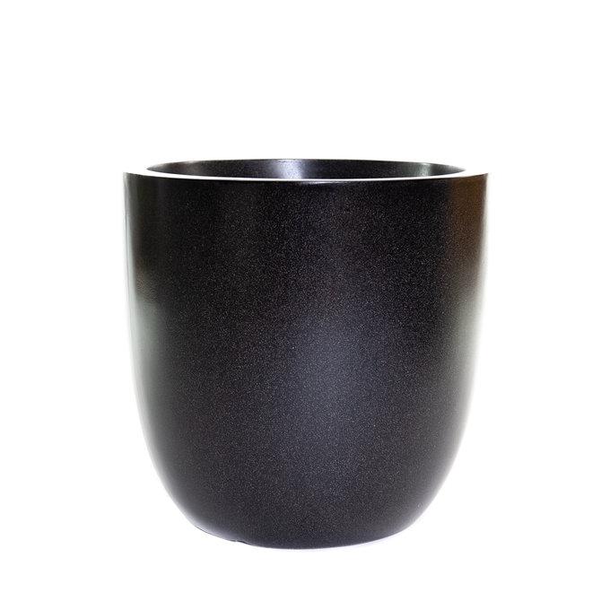 Terrazzo Bol Pot bol 54x54 zwart