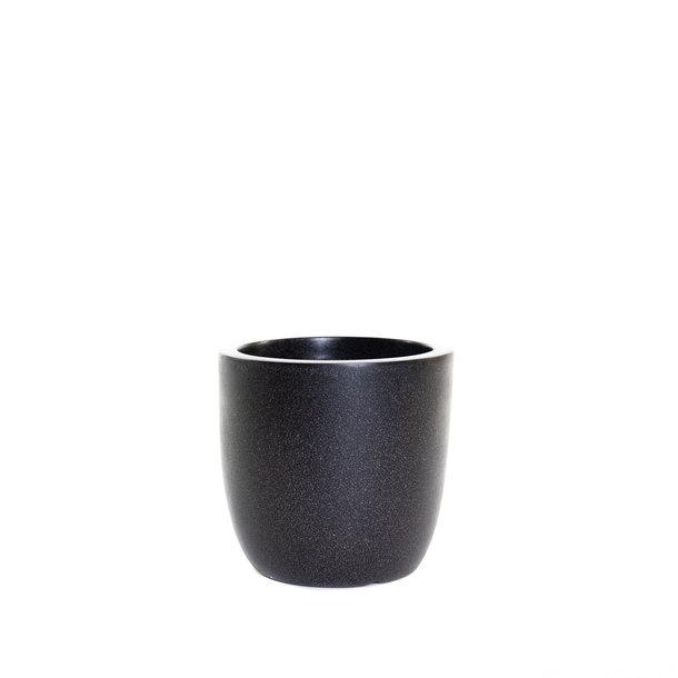 Pot bol 28x26 zwart