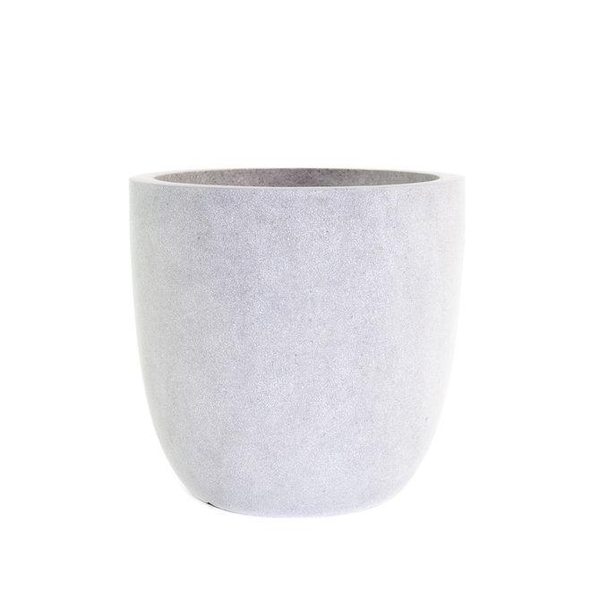 Terrazzo Bol Pot bol 45x44 lichtgrijs