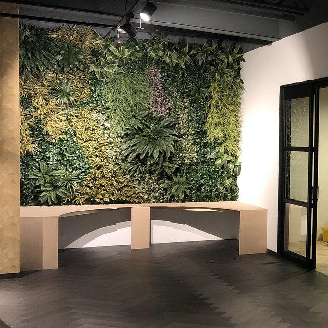 Custom Kunst Groene Wand Custom - maatwerk met zeer hoge kwaliteit