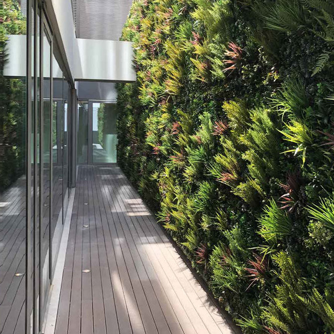 Outdoor Kunst Groene Wand Outdoor - kunstplanten voor buiten