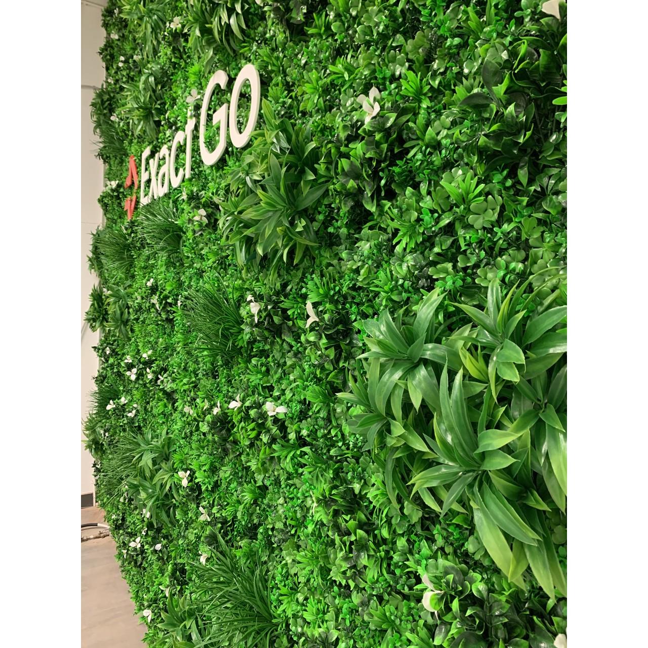 Kunst Groene Wand Basic - goedkope groene wand met logo