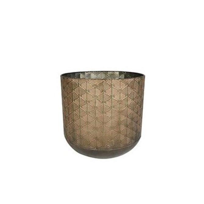 Pot Shiny Brown D32 H31