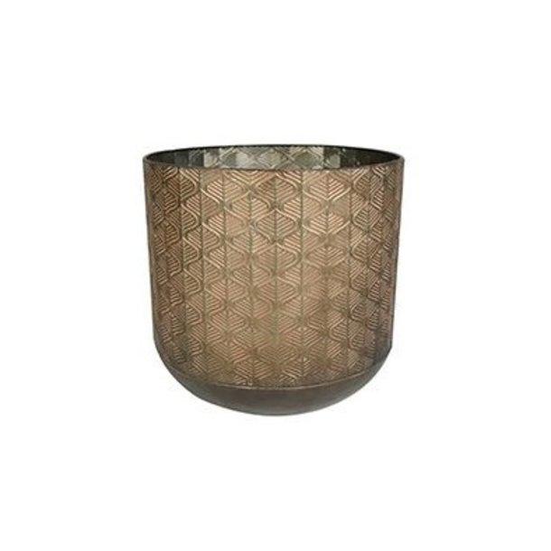 Pot Shiny Brown D38 H36