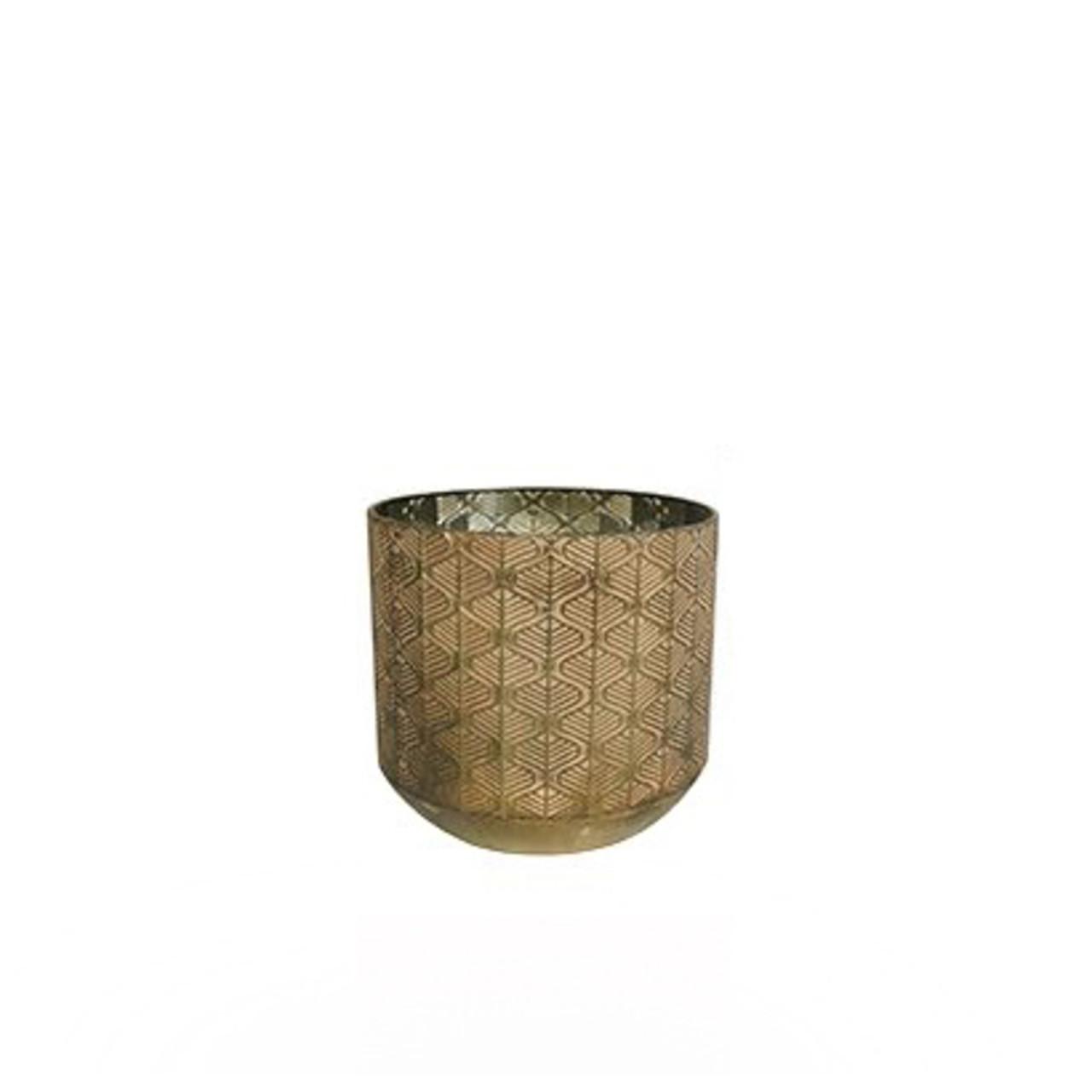 Pot Shiny Brown D23 H22