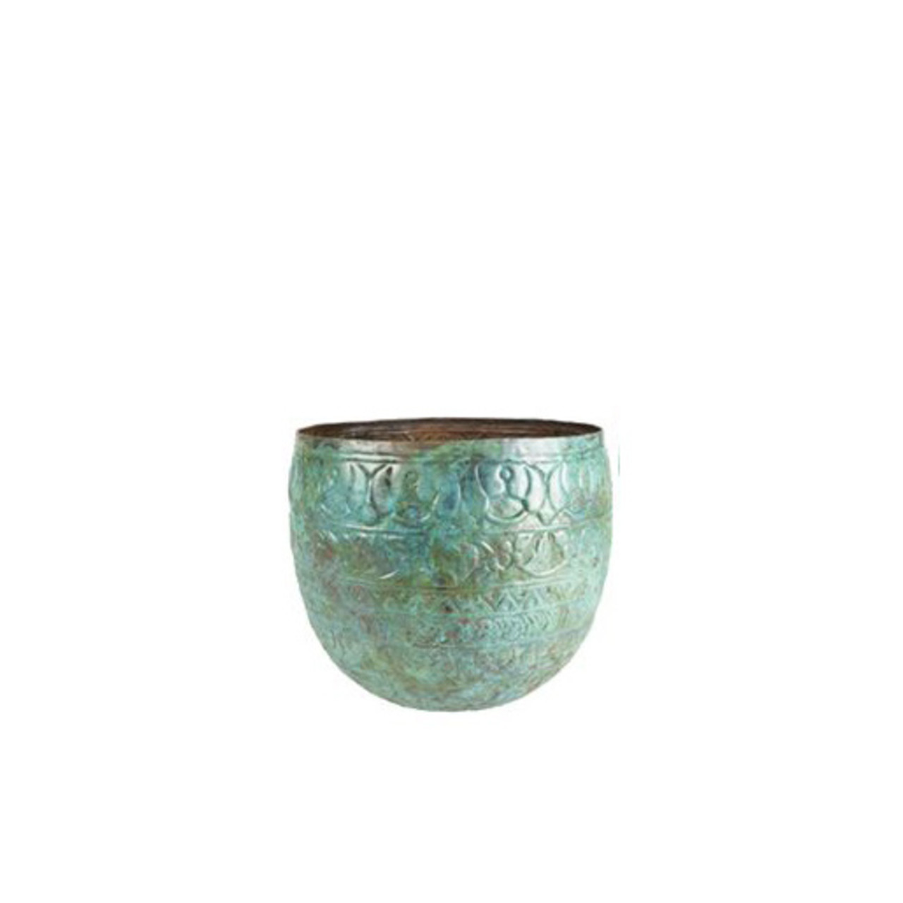 Pot Old Blue D28 H25