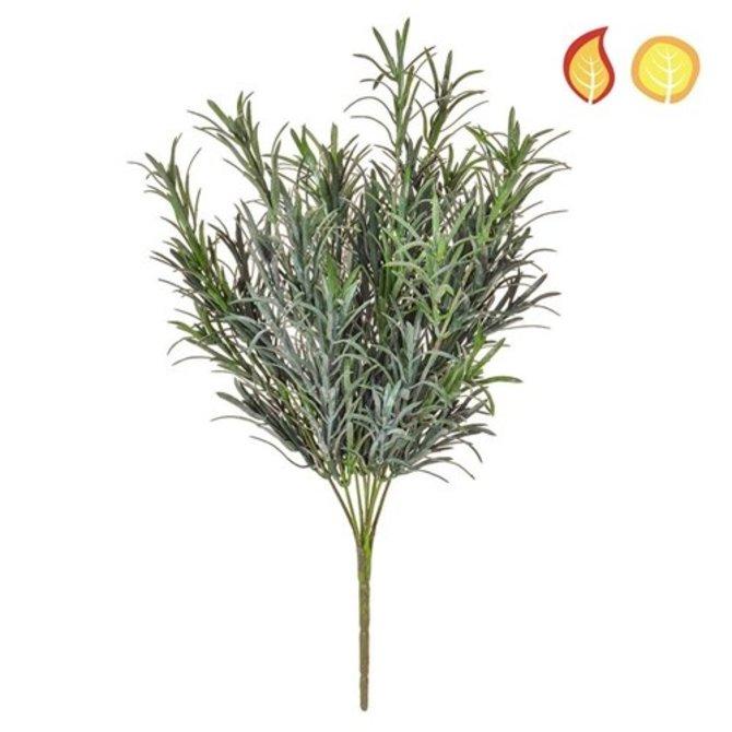 Kunst boeket Podocarpus grijs 30 cm FR