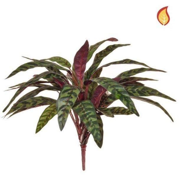 Kunst Pauwenplant boeket 45 cm FR