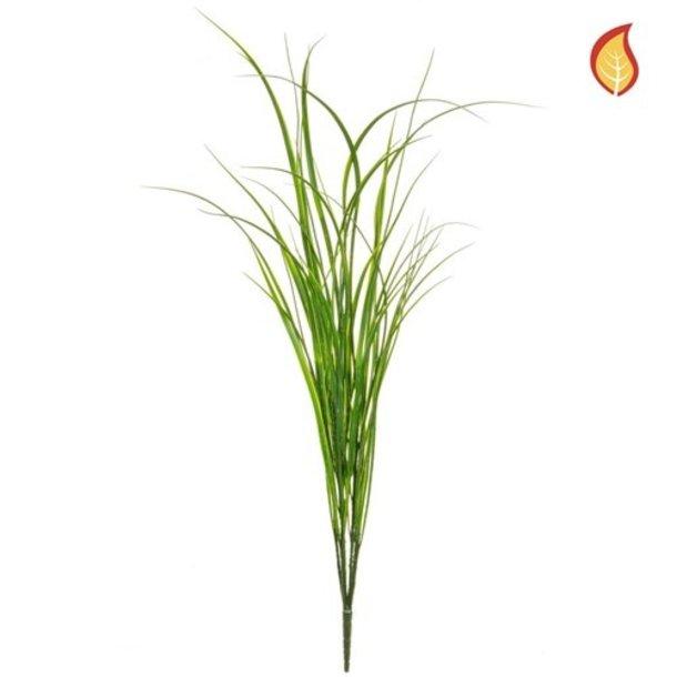 Kunst Grasboeket groen 90 cm FR