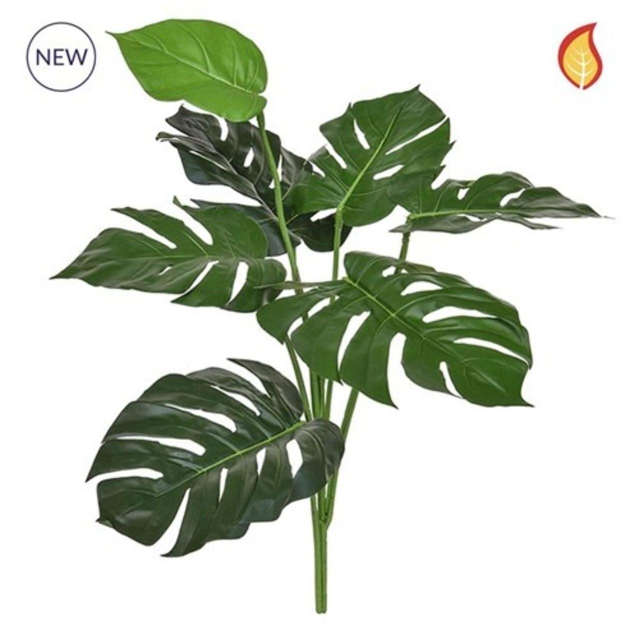 Kunst Philodendron boeket 67 cm FR