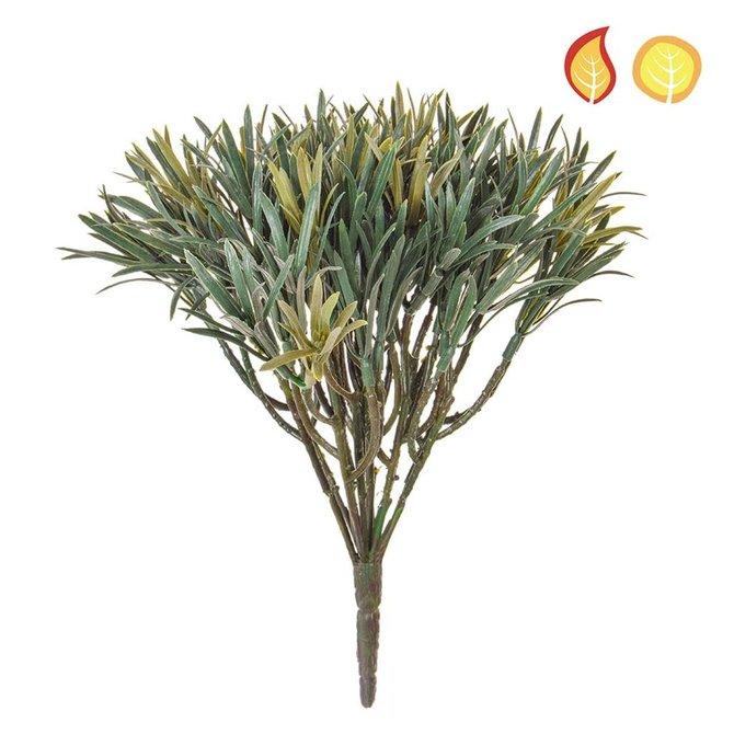 Kunst boeket Podocarpus groen 20 cm FR
