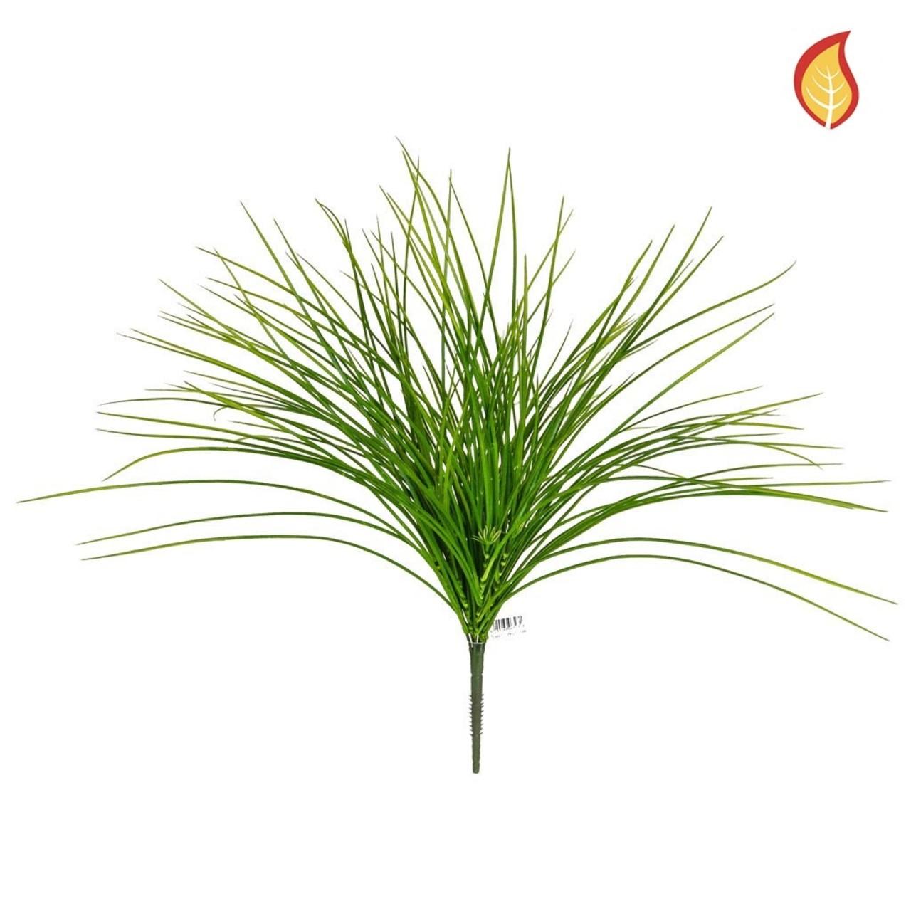 Kunst Grasboeket groen 56 cm FR